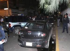 Balacera entre policias y delincuentes al sur del DF 15-10-08