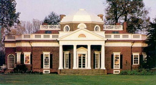fue la residencia de Thomas Jefferson.