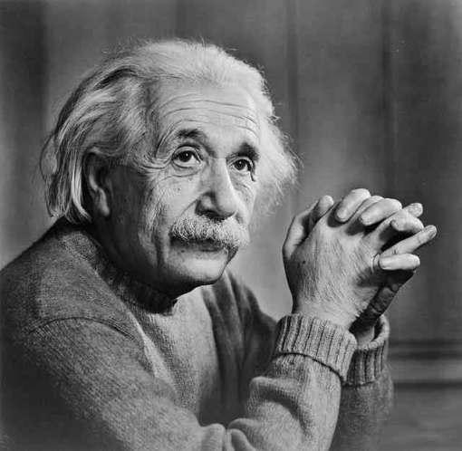 Albert Einstein (14 de marzo de 1879 - 18 de abril de 1955)
