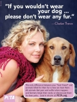 Charlize Theron, If you wouldn't wear your dog…