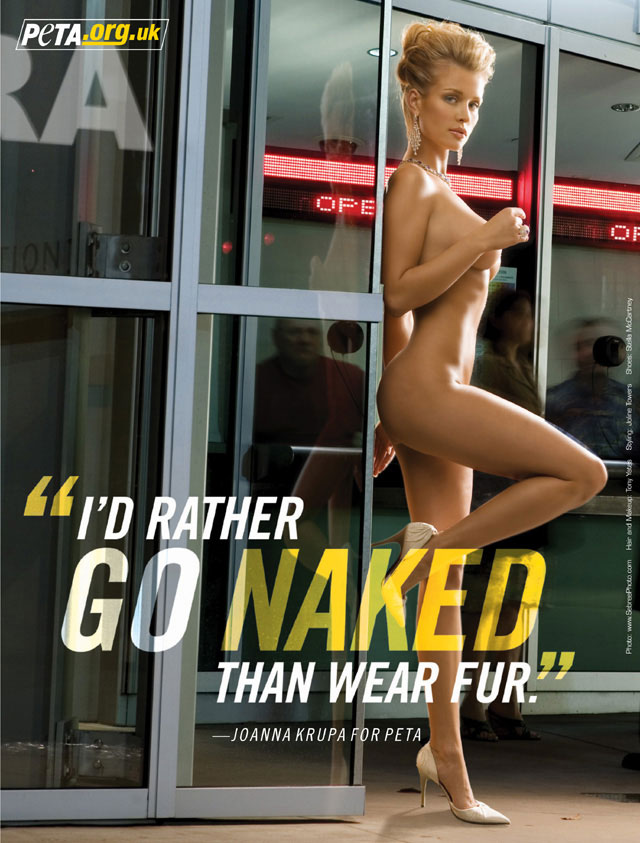 Question You Rather naked than wear fur congratulate