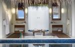 Naladhu consta de 19 villas de lujo con 200 metros cuadrados, muebles de diseño y vistas idílicas.
