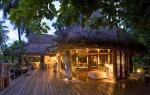 Terraza de madera, tejados de paja... Se ha cuidado cada detalle respetando el estilo original de las Seychelles.