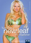 Pamela Anderson, Turn over a new leaf try vegetarian.