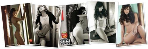Ver Cecilia Ponce Revista H Octubre 2008